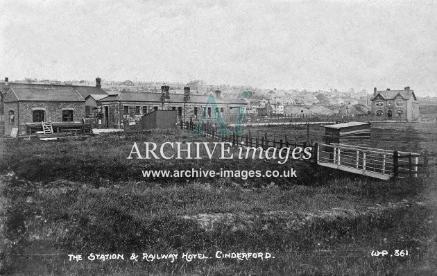 Cinderford Railway Station A