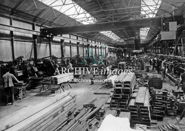 Gloucester RC&W Co Ltd 1924, Ironwork Fabrication