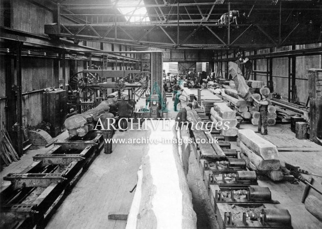 Gloucester RC&W Co Ltd 1924, Saw Mills, Log Sawing