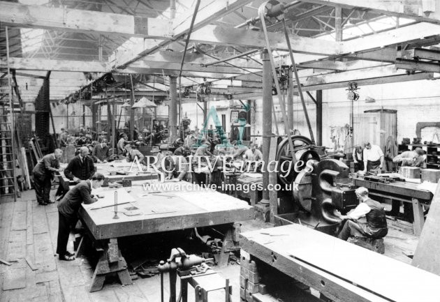 Gloucester RC&W Co Ltd 1924, Machine Shop