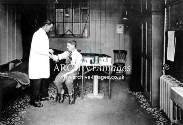 Gloucester RC&W Co Ltd 1924, Medical Room