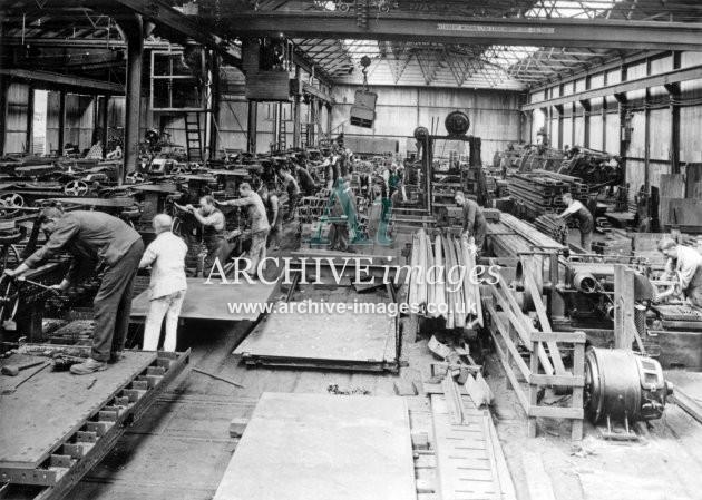 Gloucester RC&W Co Ltd 1924, Metal Fabrication