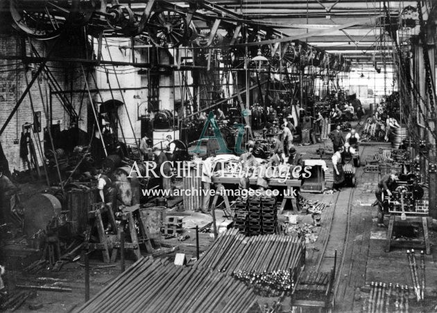 Gloucester RC&W Co Ltd 1924, Metalwork Shop