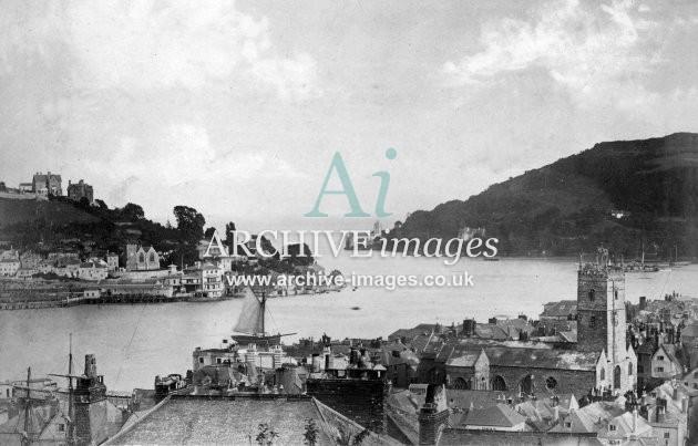 Dartmouth & Estuary c1860