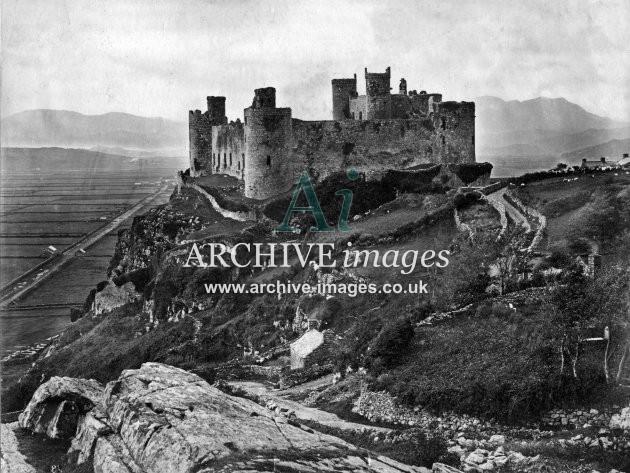 Harlech Castle c1860