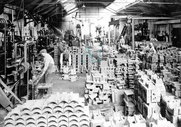 Gloucester RC&W Co Ltd 1924, Milling & Finishing Shops