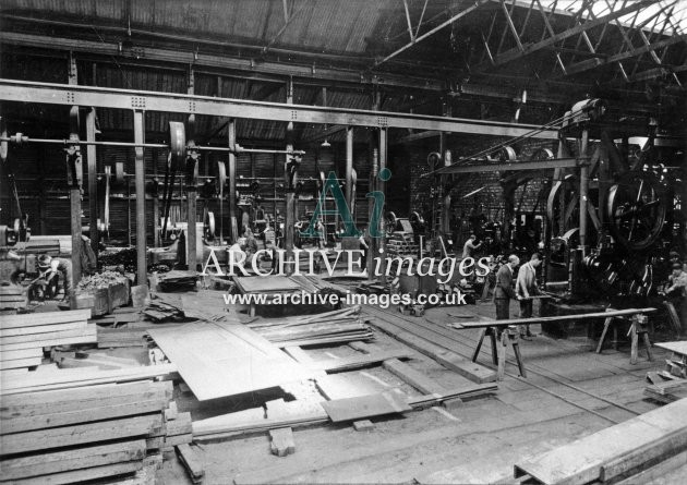 Gloucester RC&W Co Ltd 1924, Timber Shops