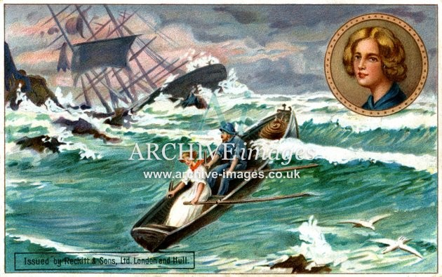 Reckitt & Sons, Grace Darling Lifeboat Rescue FG