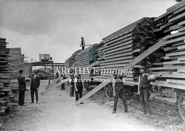 Gloucester RC&W Co Ltd 1924, imber Yard