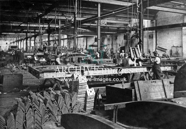 Gloucester RC&W Co Ltd 1924, Wagon Shops Underframes