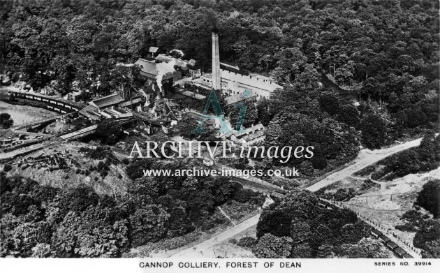 Cannop Colliery, Aerial View A