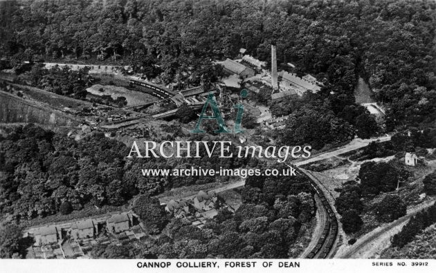 Cannop Colliery, Aerial View B