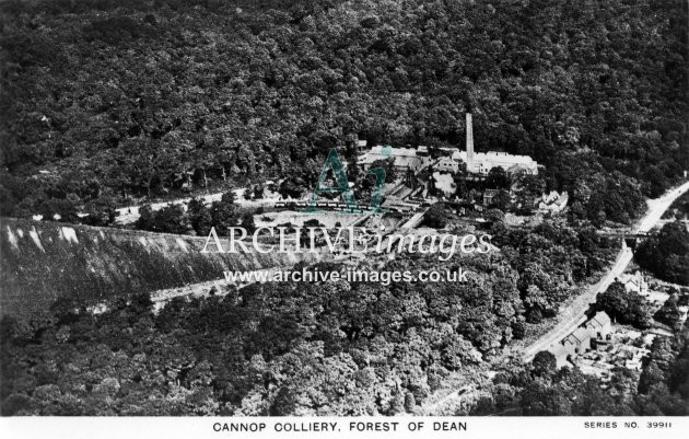 Cannop Colliery, Aerial View C