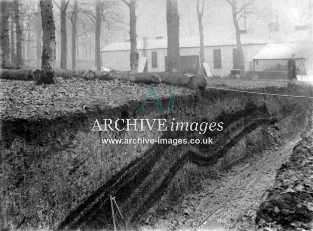Cannop Colliery Sinking C, Coal Seams Uncovered