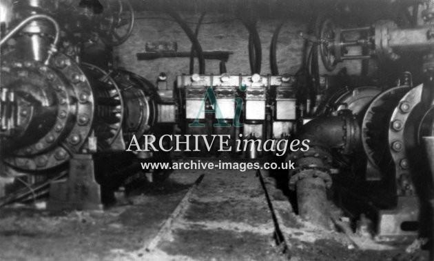 Cannop Colliery Underground, Electric Pumps