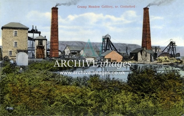 Crump Meadow Colliery, Cinderford D colour