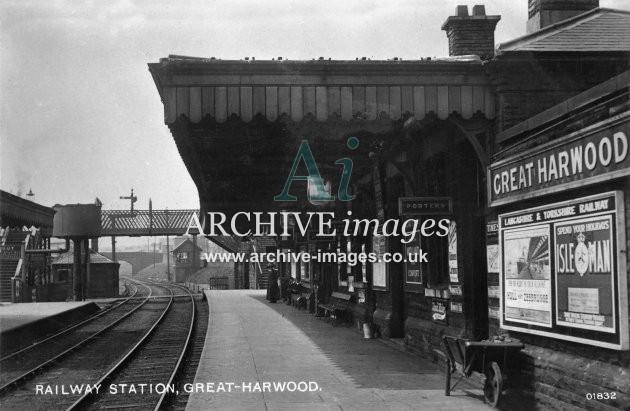 Great Harwood Railway Station L&YR JR