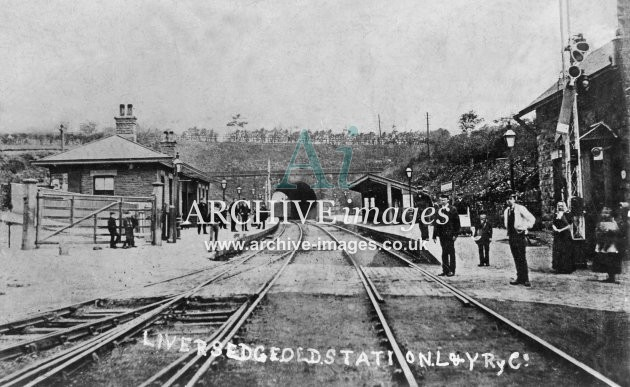 Liversedge (old) Railway Station L&YR JR