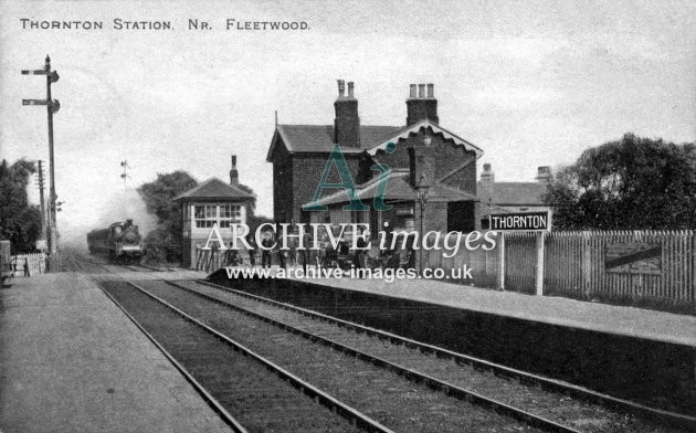 Thornton Railway Station nr Fleetwood L&YR&L&NWR Joint