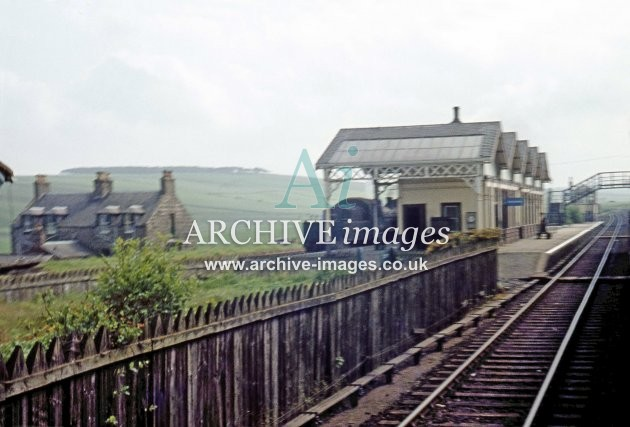 Tillynaught Jct railway station c1965 B