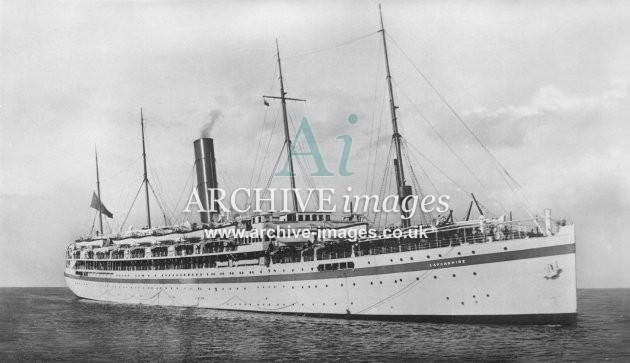 H.M.T Lancashire (ex Bibby Line) c1930