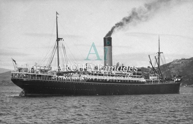 RMS Arawa (Shaw Savill & Albion Co Ltd)