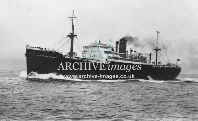 SS Manchester Progress (Manchester Liners Ltd.)