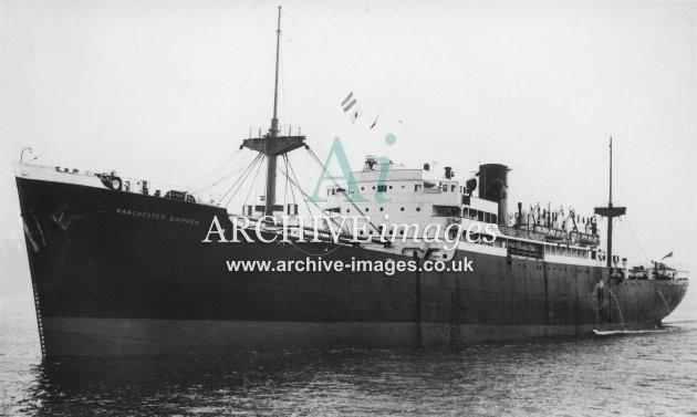 SS Manchester Shipper (Manchester Liners Ltd.)