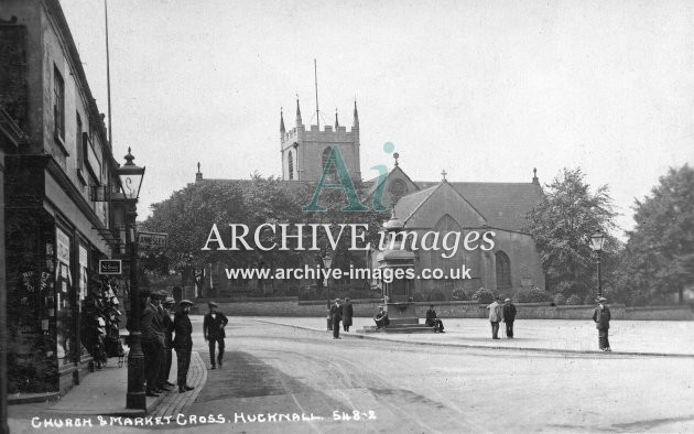 Church & Market Cross Hucknall
