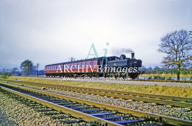 Devizes Branch train nr Patney & Chirton 1963