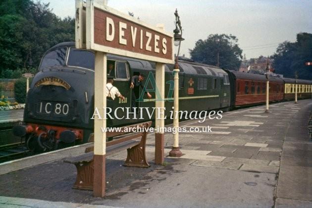Devizes Station 1961