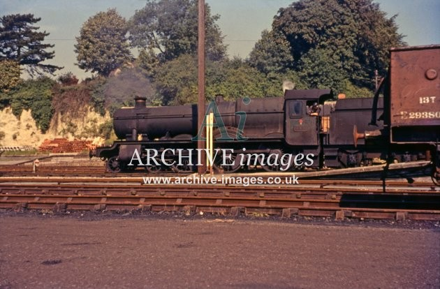 Devizes Station No 4991 Cobham Hall 1961