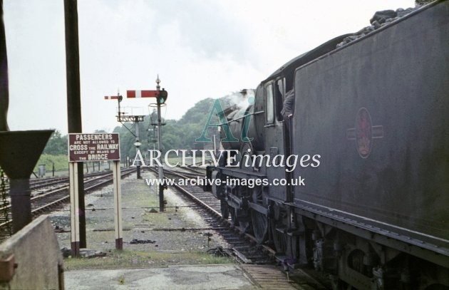 Devizes Station No 5014 Goodrich Castle, 19651965