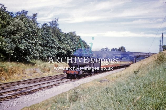 Train at Lydeway 1960
