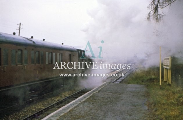 Ogbourne Station No 3682 1961