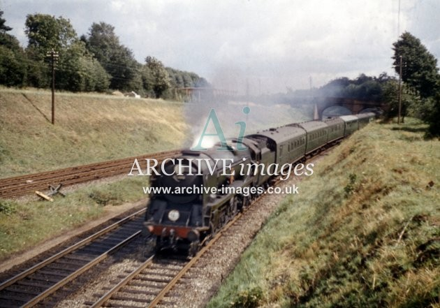 Wilton Junction, No 35006 Peninsular & Oriental S.N. Co. 1962