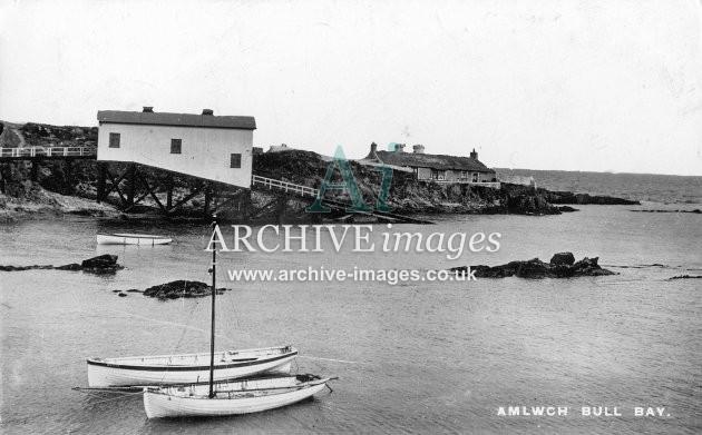 Amlwch, Bull Bay lifeboat house c1910