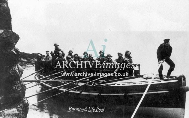 Barmouth lifeboat c1910