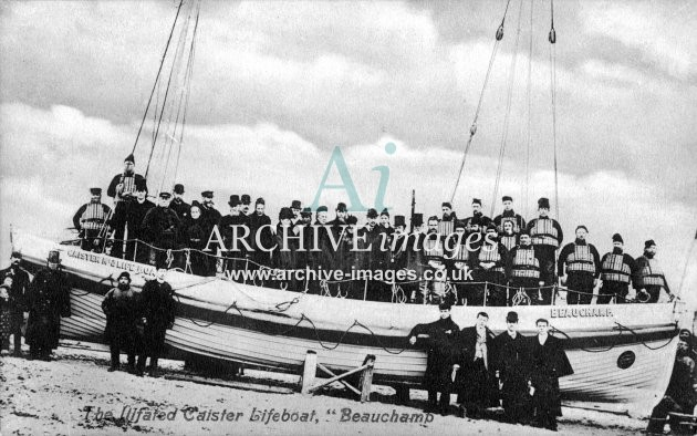 Caister lifeboat, ill fated Beauchamp c1905