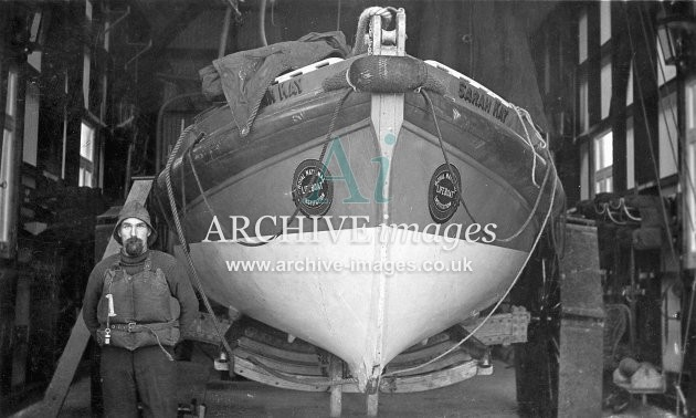 Dunbar lifeboat Sarah Kay (Skateraw) c1930