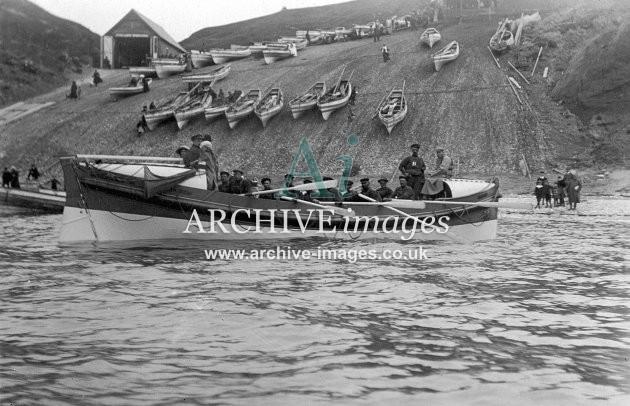 Flamborough lifeboat c1910