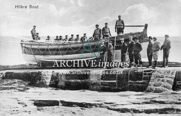 Hilbre lifeboat c1905