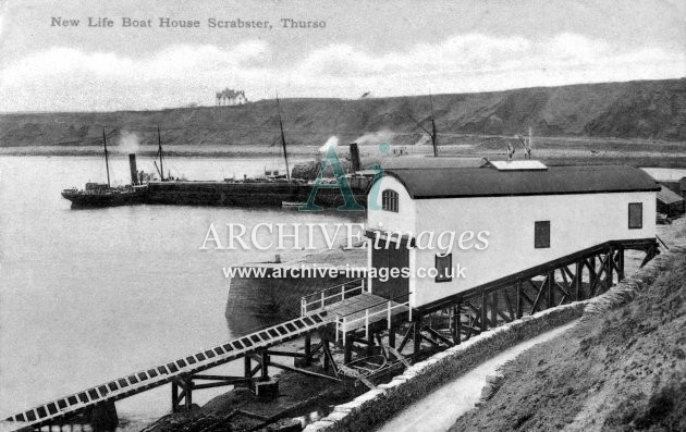 Scrabster, Thurso, new lifeboat house c1910