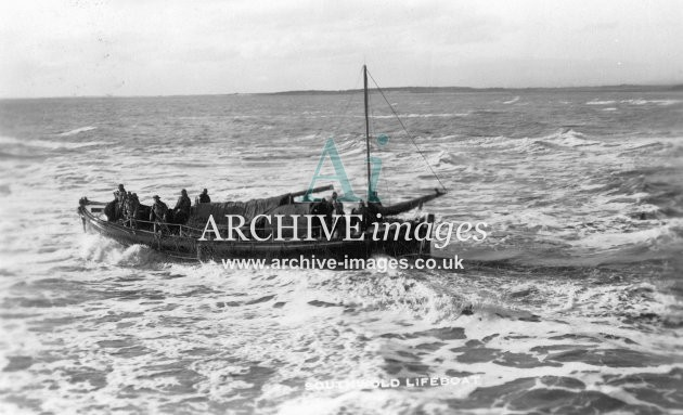 Southwold lifeboat c1910