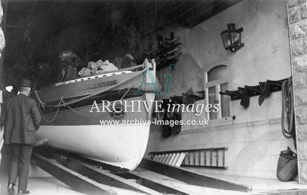 Weston Super Mare lifeboat Colonel Stock c1910