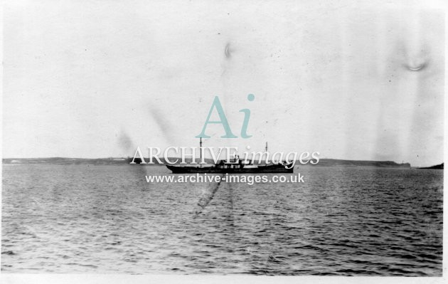 Scilly isles shipwreck Crow Sound Spanish SS Septiembre 26 March 1911 CMc