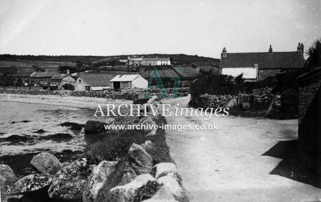 Scilly Isles Tresco village c.1912 CMc