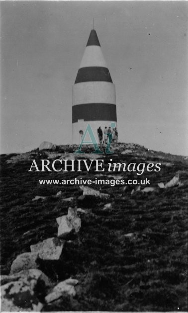 Scilly isles The Day mark Tower St Martins c.1925 Lighthouse CMc