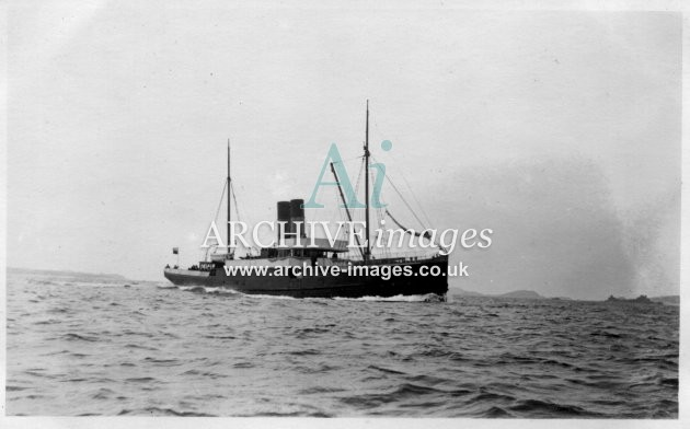 Scilly isles ferry RMS Lyonnesse 1912 CMc
