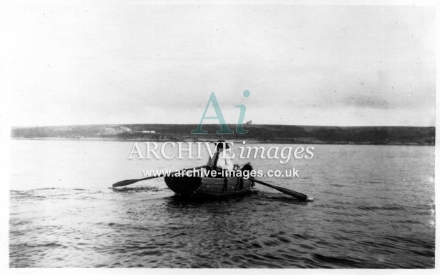 Scilly Isles N Clarke row boat 1912 CMc